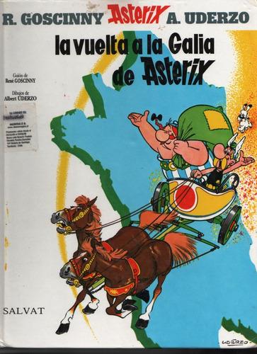 comic, la vuelta a la galia de asterix..