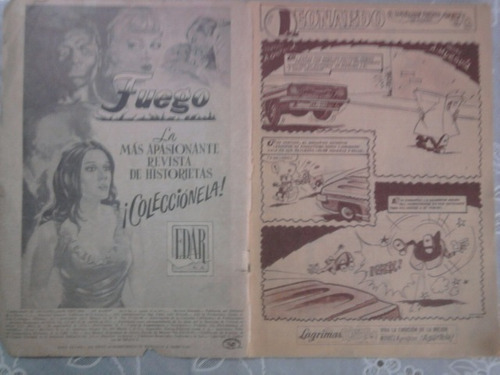 cómic leonardo,no.45,1973,32pp. b/n ed.de la parra, méxico