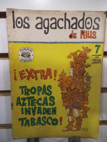 comic los agachados de rius 07 editorial posada