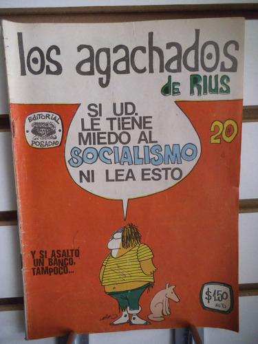 comic los agachados de rius 20 editorial posada