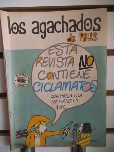 comic los agachados de rius 35 editorial posada