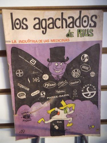 comic los agachados de rius 49 editorial posada