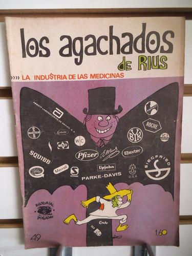 comic los agachados de rius 49 vintage