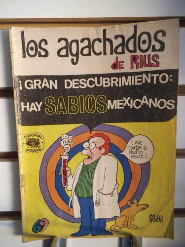 comic los agachados de rius 69 editorial posada