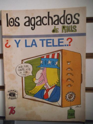 comic los agachados de rius 76 editorial posada