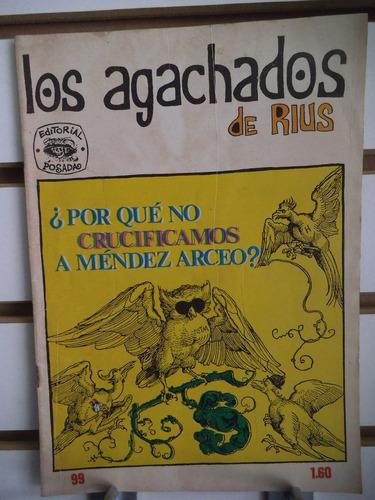 comic los agachados de rius 99 editorial posada
