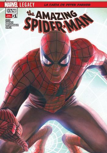 cómic, marvel, amazing spider-man (legacy) # 1. ovni press