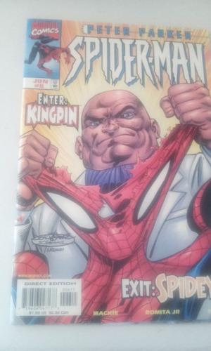 comic marvel en ingles peter parker spiderman  no. 6