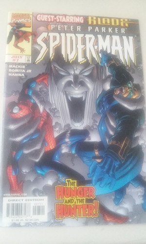 comic marvel en ingles peter parker spiderman  no. 7