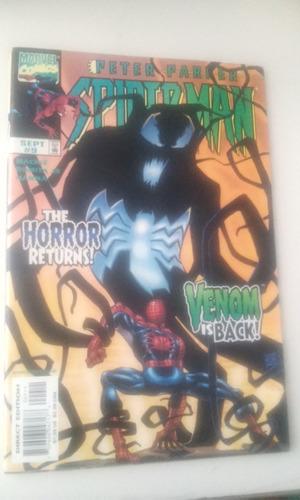 comic marvel en ingles peter parker spiderman  no. 9