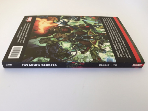 cómic, marvel, excelsior: invasión secreta ovni press