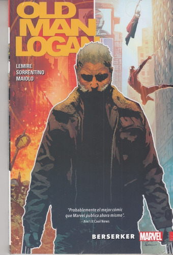 comic marvel old man logan volumen 1 berserker español