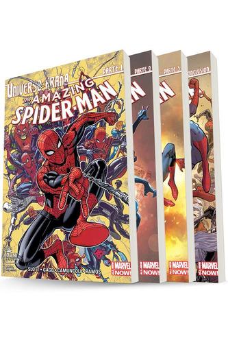 cómic, marvel, pack universo araña. ovni press