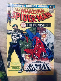 Amazing Spiderman 129 Punisher First Appearance 1//6 Scale Comic Book