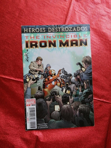 comic marvel the invencible iron man