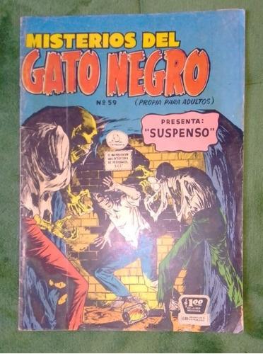 comic misterios del gato negro # 59