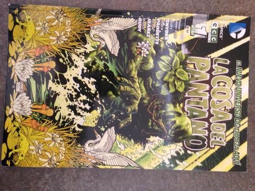 comic new 52  la cosa del pantano
