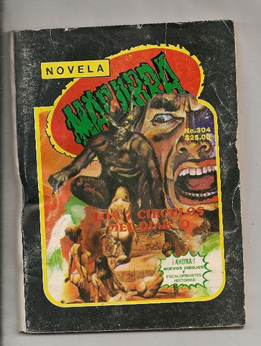 comic novela macabra # 304 de 1984