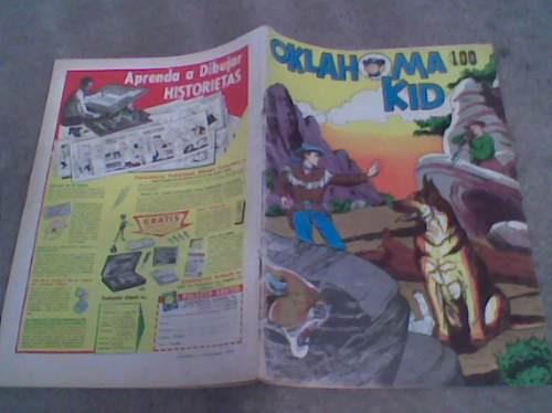 comic oklahoma kid de la prensa 1959