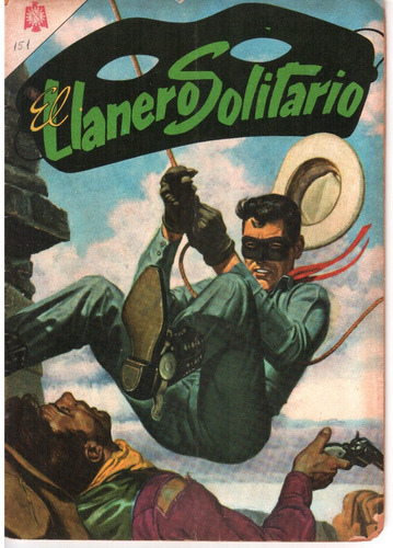cómic original el llanero solitario #151 - 1965 ed. novaro
