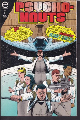 cómic original psychonauts #1 - 1993 epic comics