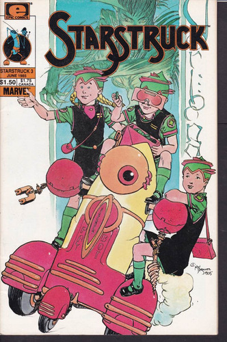 cómic original starstruck #3 - 1985 epic comics