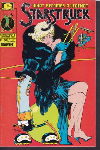 cómic original starstruck #5 - 1985 epic comics