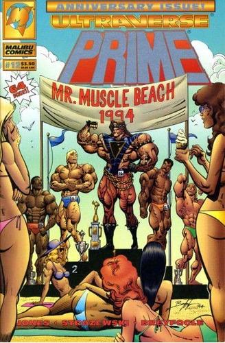 comic prime regular series y tarjetas ultraverse