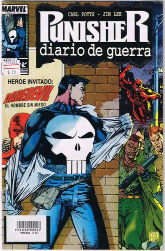comic - punisher - n°2 (año 1) - (editorial columba) 1995