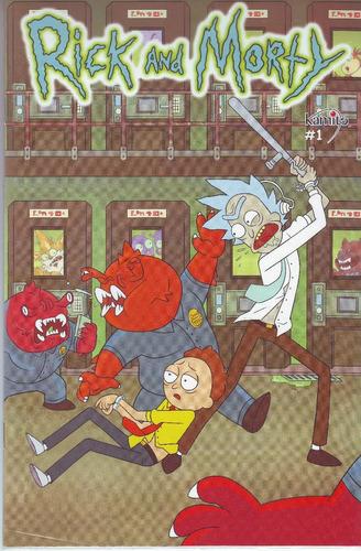 comic rick and morty # 1 nuevo y sellado editorial kamite