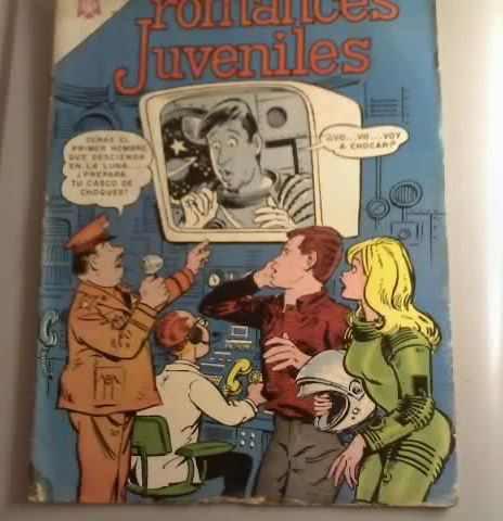 comic romances juveniles edit.novaro 1966
