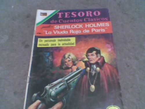 comic sherlock holmes,tesoro de cuentos c.