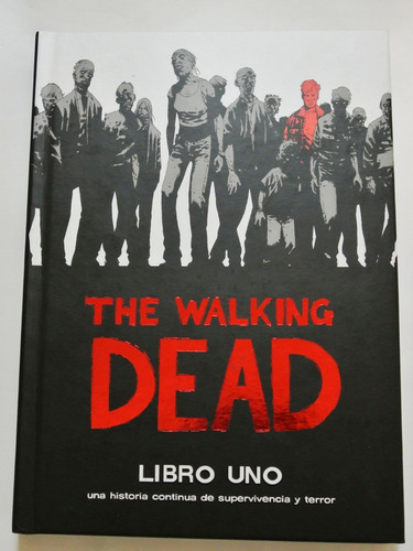 cómic, skybound, the walking dead deluxe 1. ovni press