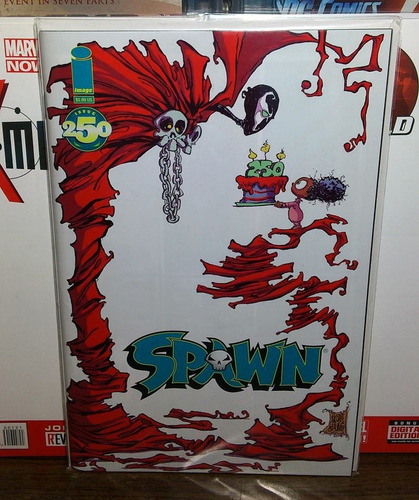 cómic spawn #250 portada variante de skottie young