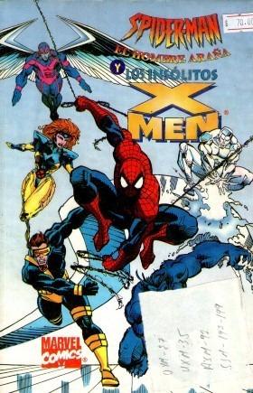 comic  spiderman y los insolitos  xmen