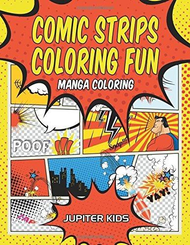 Comic Strips Coloring Fun Manga Para Colorear