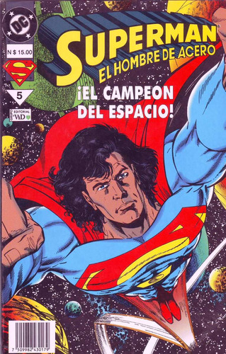 comic superman el campeón del espacio editorial vid regular