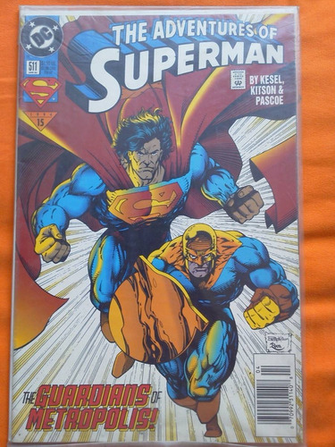 comic the adventures of superman # 511