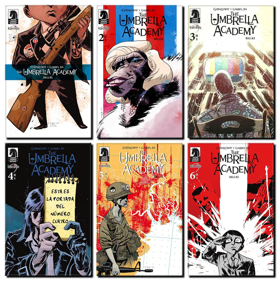 Comic The Umbrella Academy Dallas My Chemical Romance