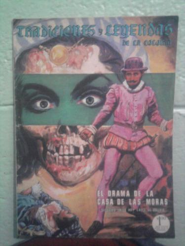 comic tradiciones y leyendas de la colonia español