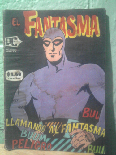 comic vintage en sepia 1965 el fantasma editorial pc