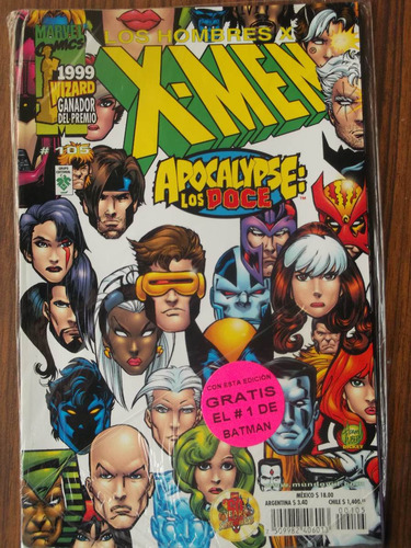 comic - x men 105 & batman 1 - vid