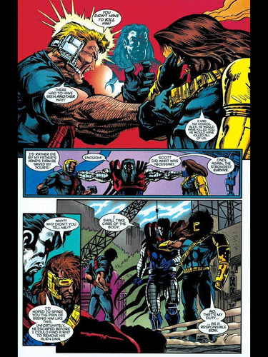 comic x-men: tales from age of apocalipse factor x