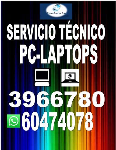 comicomp panama soporte tecnico computadoras laptop