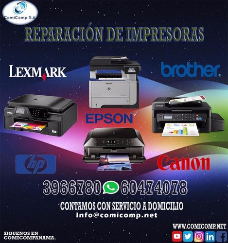 comicomp panama /soporte tecnico/ impresoras a domicilio