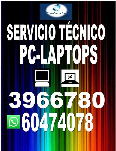 comicomp soporte técnico de computadoras laptops domicilio