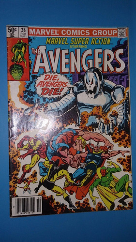 comics 1980 num 28 marvel the avengers
