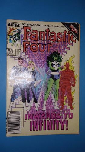 comics 1985 marvel fantastic four