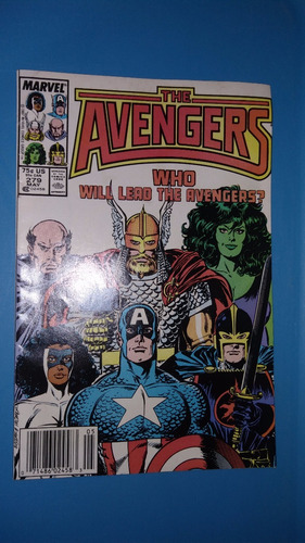 comics 1987 num 279 marvel the avengers