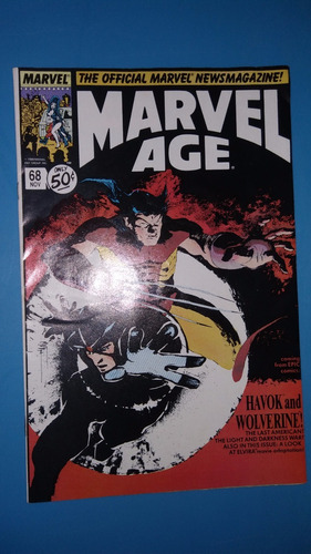 comics 1988 num 68 marvel age